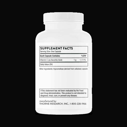 Ascorbic Acid FACTS
