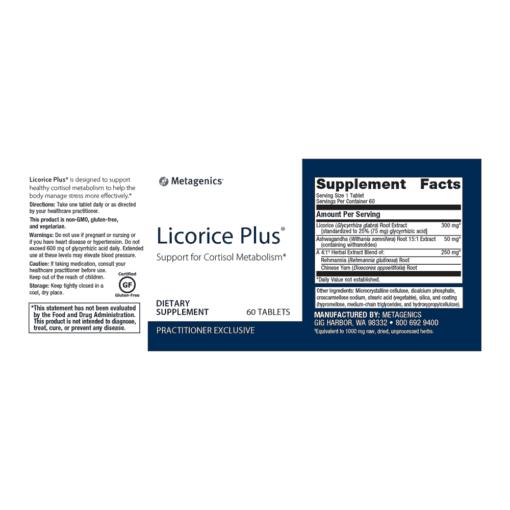 Licorice Plus FACTS