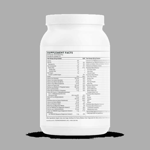 Medipro Vegan Vanilla FACTS