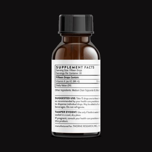 Vitamin K liquid FACTS