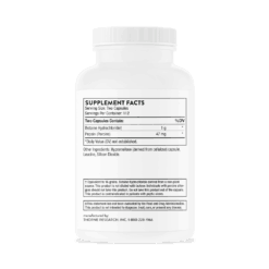 Betaine HCL & Pepsin