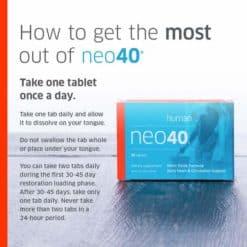 Neo40 60 Tabs